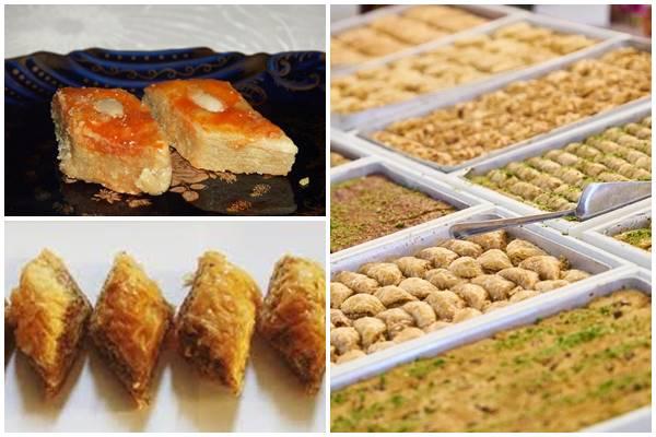 восточные сладости из Баку