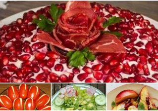 постные салаты к 8 Марта и другим весенним праздникам