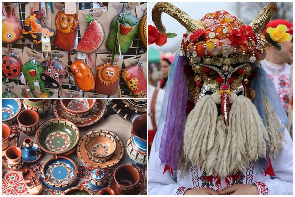 колоритные сувениры из Болгарии