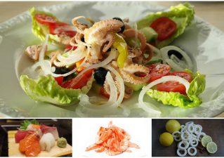 Салат «Дамский каприз» с кальмарами: рецепты, советы по приготовлению и оформлению