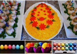 Салат «Пасхальное яйцо»: рецепты с мясом, курицей, колбасой и рыбой