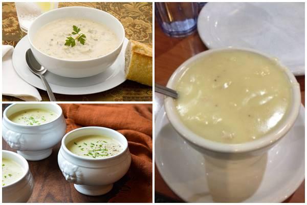 кремовый суп из мяса индейки