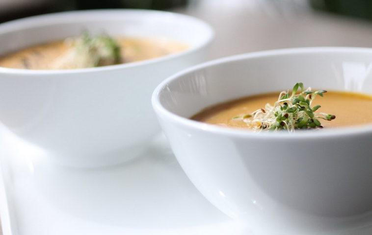 суп-пюре из индейки