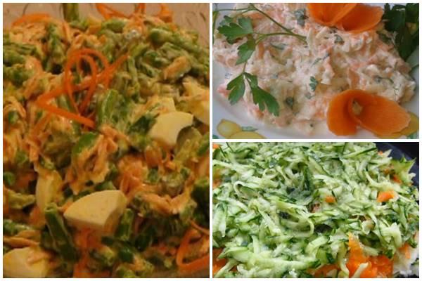 """салат """"Весна"""" с морковью"""