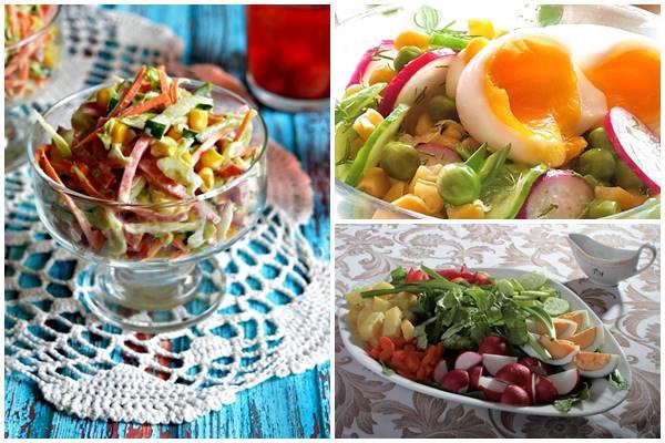 весенний салат современный