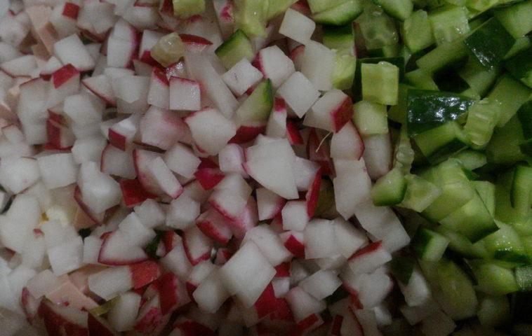 весенний салат - рецепты