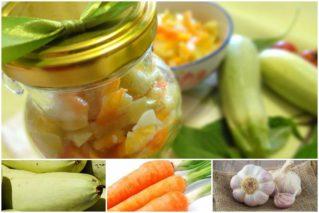 Вкусный салат из кабачков с морковью и луком на зиму: простые рецепты, советы по приготовлению