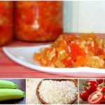 Как закрыть кабачки с рисом на зиму: простые рецепты, кулинарные советы