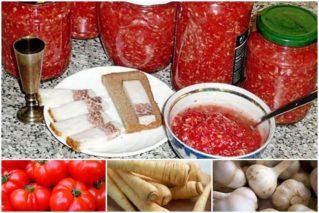 Хреновина на зиму: рецепты и советы, как приготовить закуску, чтобы она не закисала