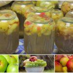 Компот из яблок на зиму: рецепты на 3-литровую банку без стерилизации, советы по приготовлению
