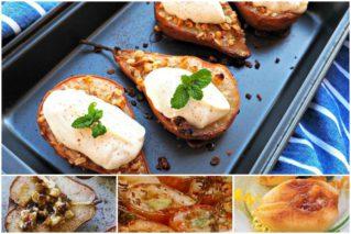 Груши, запеченные в духовке: рецепты, советы по приготовлению