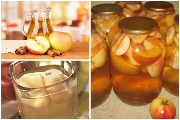 заготовка из яблок на зиму