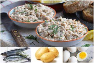 Простенько, но со вкусом: паштет из картофеля и сельди