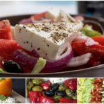 """салат """"Греческий"""" - классика средиземноморской кухни"""