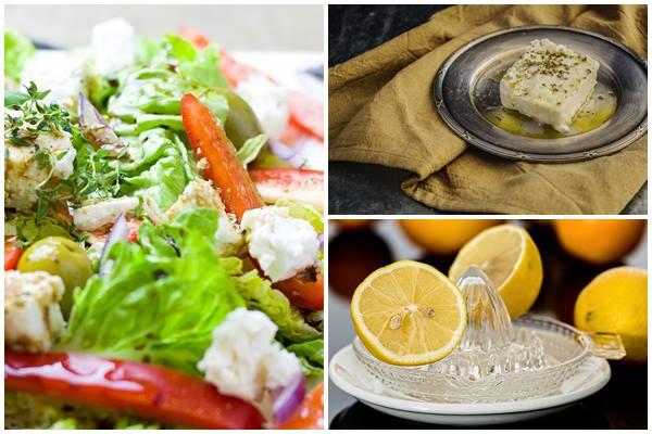 компоненты для греческого салата