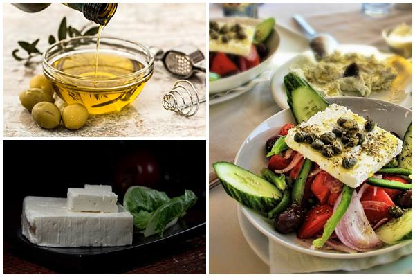 классический состав греческого салата