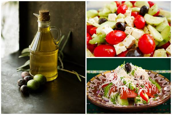 """салат """"Греческий"""" по классическому рецепту"""