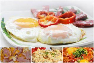 Как пожарить вкусную яичницу или омлет: рецепты, советы