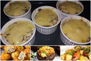 Что можно приготовить на ужин из шампиньонов: рецепты легких закусок, советы