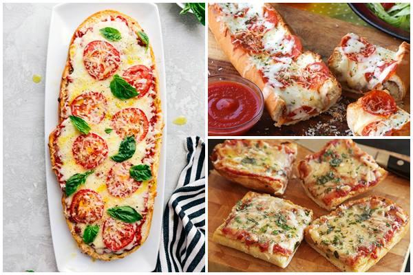 пицца в батоне