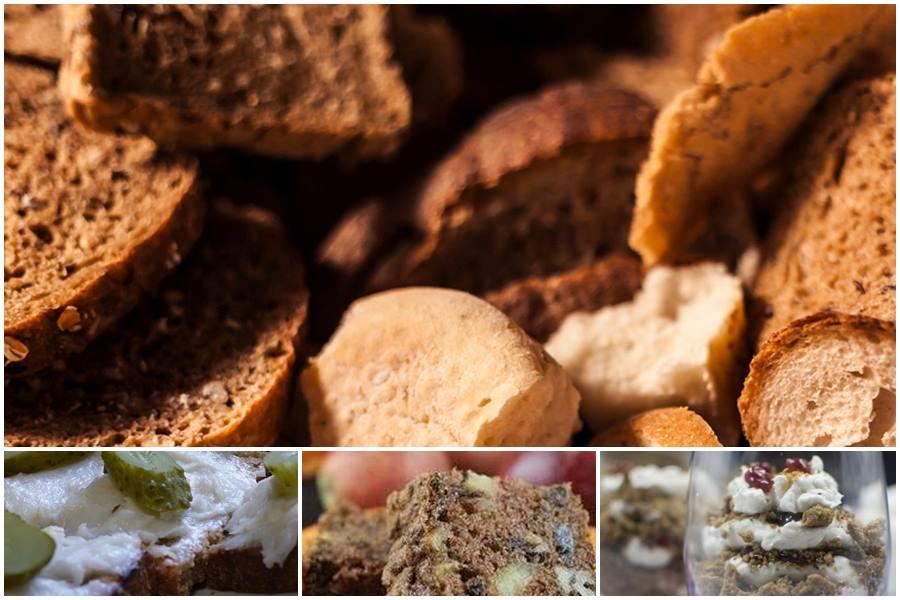 Что можно приготовить из черствого черного хлеба: рецепты первых и вторых блюд, десертов и кваса