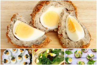 Что можно приготовить из вареных яиц: 11 рецептов