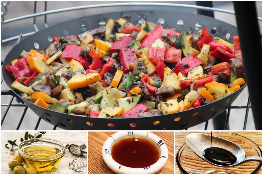 Маринады для овощей на гриле: 10 рецептов, советы