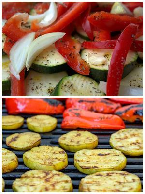 маринование овощей для жарки на углях