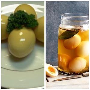 яйца в соевом соусе