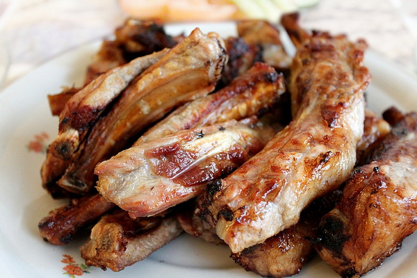 барбекю из мяса в чайном маринаде