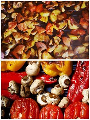 маринад для овощей и грибов гриль