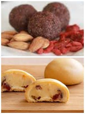 конфеты из фасоли и сухофруктов