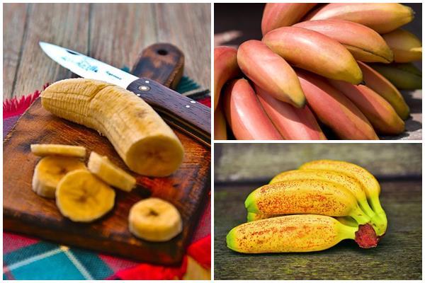 какими разными бывают бананы