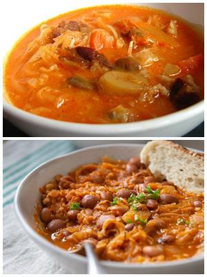 венгерский суп с красной фасолью