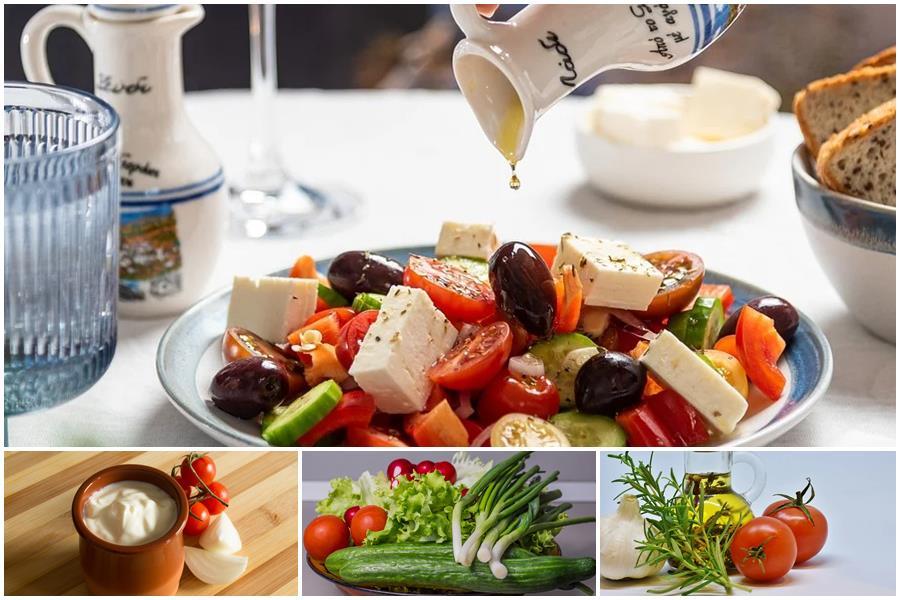 Какая заправка подходит для салата с огурцами и помидорами: рецепты, советы