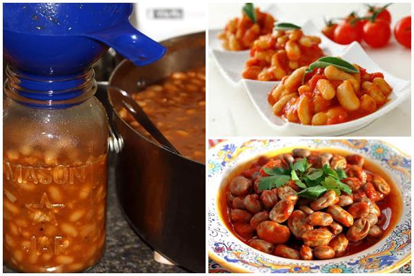 зерновая фасоль в томатном соусе