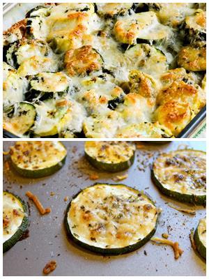 простой рецепт кабачков, запеченных под сыром