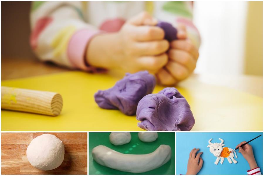 You are currently viewing Как сделать соленое тесто для лепки: рецепты «эко-пластилина» в домашних условиях