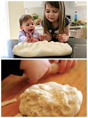 соленое тесто для детей