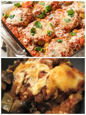 мясо по-французски с баклажанами и картошкой