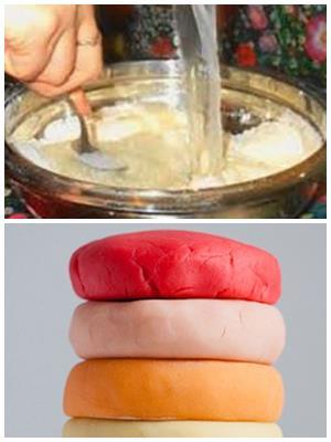 соленое тесто для прочных поделок