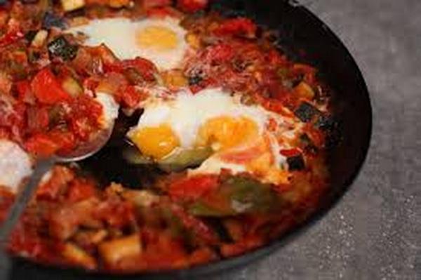 писто - испанское овощное рагу