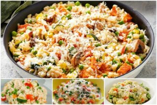 Read more about the article Ризотто с овощами: классические рецепты, технология приготовления