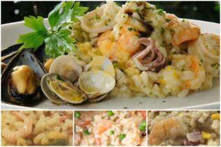 Ризотто с морепродуктами: классические рецепты, особенности приготовления