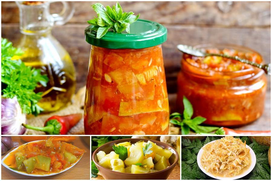 You are currently viewing Салат из кабачков на зиму: подборка классических рецептов, советы по приготовлению
