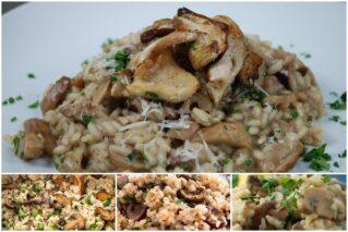 Read more about the article Ризотто с грибами: классические рецепты с лесными грибами, вешенками и шампиньонами, особенности приготовления