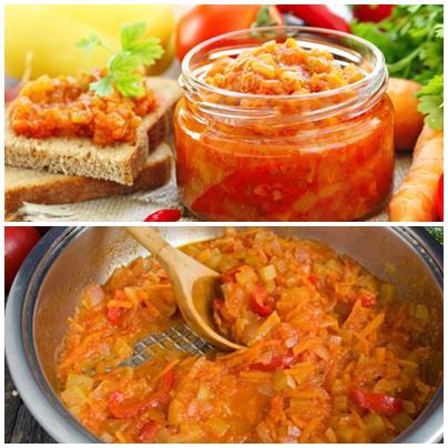 соус из кабачков с морковью