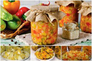 Салат из кабачков и огурцов на зиму: рецепты на любой вкус, рекомендации по приготовлению